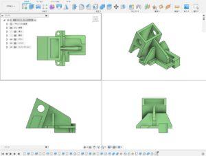 3次元CAD利用技術者試験準1級課題