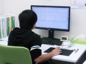 女子高生 CAD練習