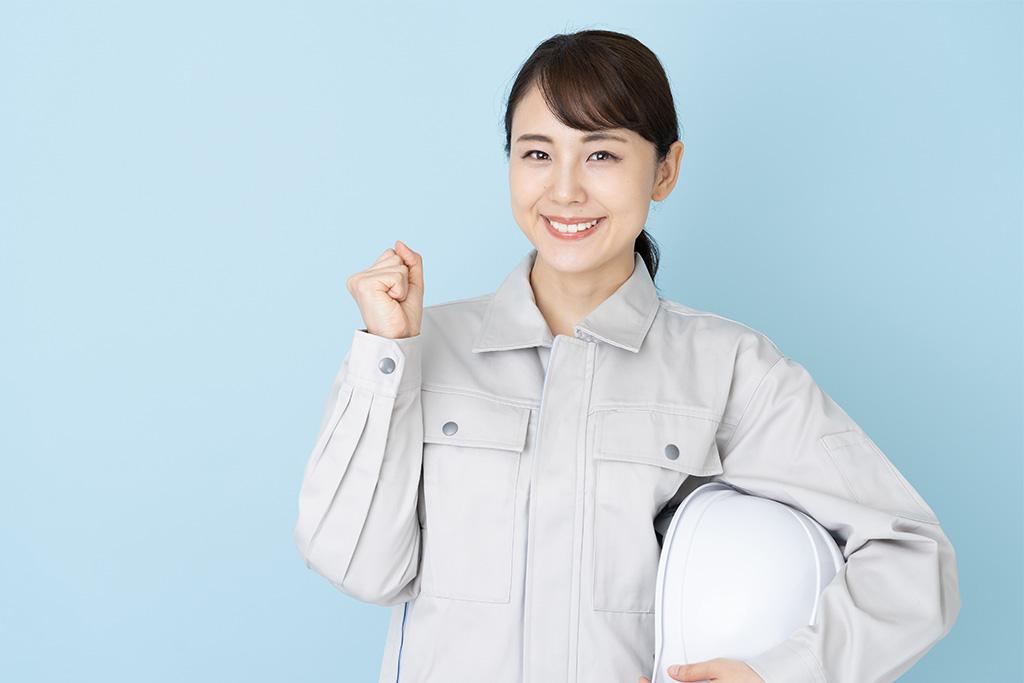 建設業で働く女性
