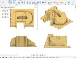 3次元CAD利用技術者試験1級課題