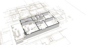 建築3D図面