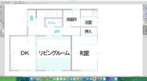 Jw_cad for mac 建築図