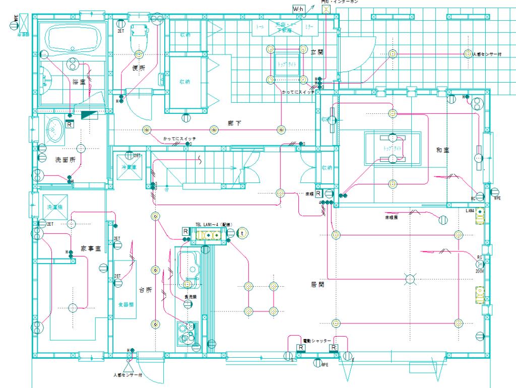 電気設備図