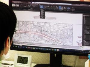 AutoCAD土木図面
