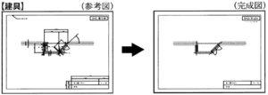 建築CAD検定3級窓